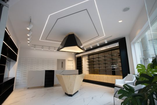 Modern pharmacy in Komotini by Architectures