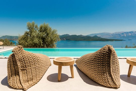 Villa Agapanthus in Lefkada island by Revergo Architecture