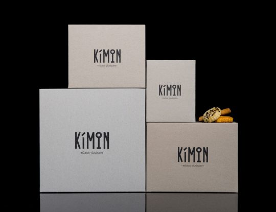 Kimon patisserie branding by Caparo Design Crew