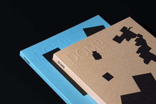 DOMa magazine editorial design by Nowhere Studio