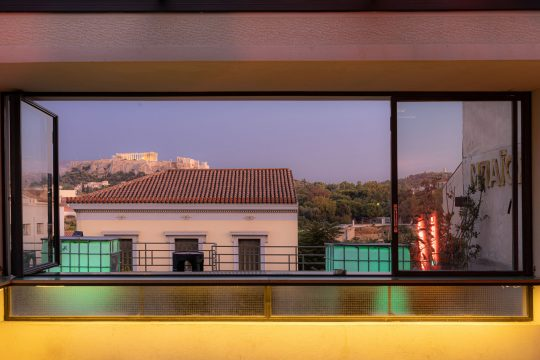 'Bios' terrace in Athens by FLUX office