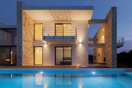 The Feng Shui Stone House in Crete by Zeropixel Architects