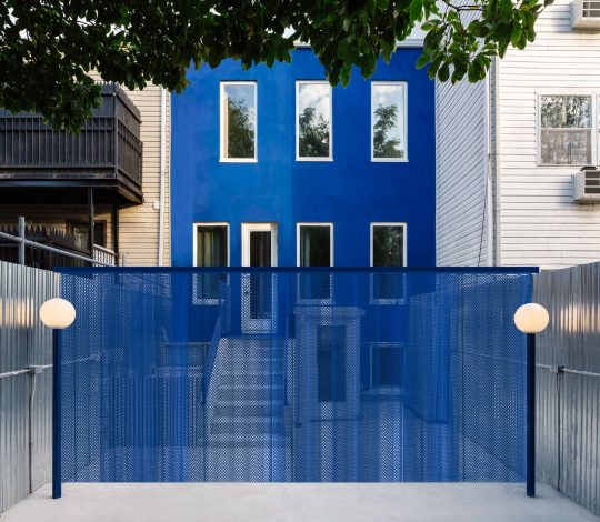 The Blue Building in Bushwick, Brooklyn by LOT office for architecture