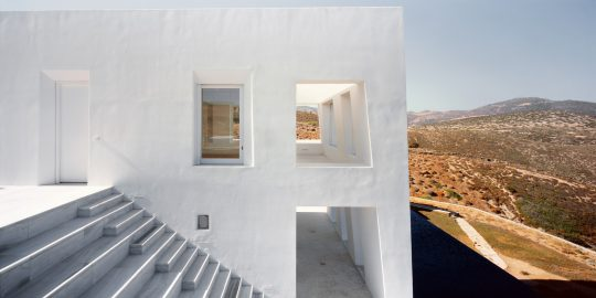 Avlakia House in Antiparos island by ARP - Architecture Research Practice