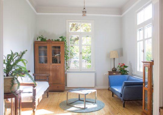 Single house interior restoration in the preservable Ouziel quarter of Thessaloniki by Loopo Studio