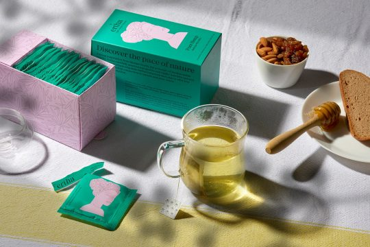 'Ertha' highly nutritive botanical infusions branding & packaging by AG Design Agency