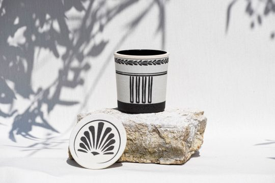 CHOE handcrafted soy scented candles inspired by Ancient Greek culture