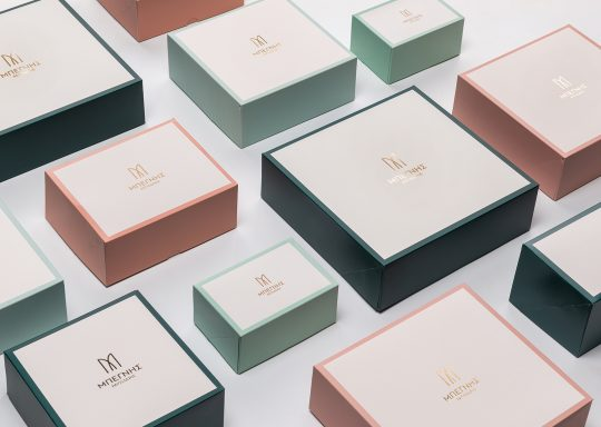 Begnis Catering brand identity & packaging by Kanella