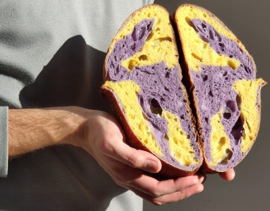 @frommydadsbakery: Art-inspired sourdough creations by Nikos Chandolias