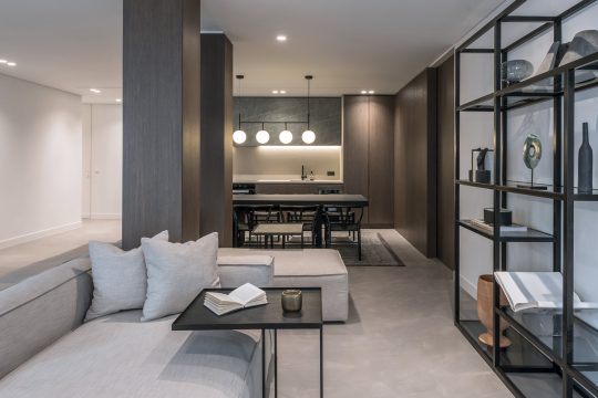 Residence OH in central Athens by Cream Architects