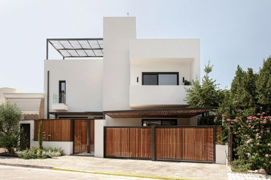 The Cube House in Athens by A&M Architects