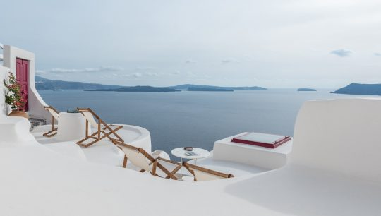 Cycladica private cave houses in Santorini island