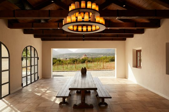 Robola wine-tasting facility in Kefalonia by LArchitects