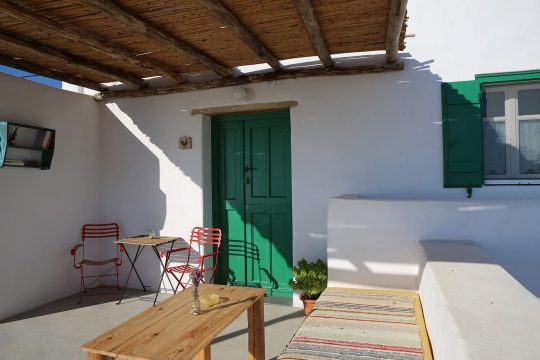 Argalios Guesthouse in Donoussa island