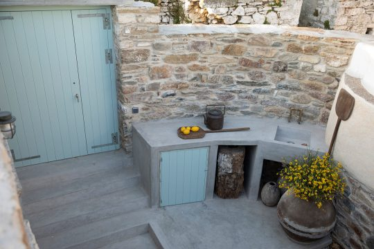 Onos living project in Tinos island