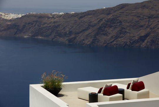 Atoles Retreat in Santorini by Stones & Walls