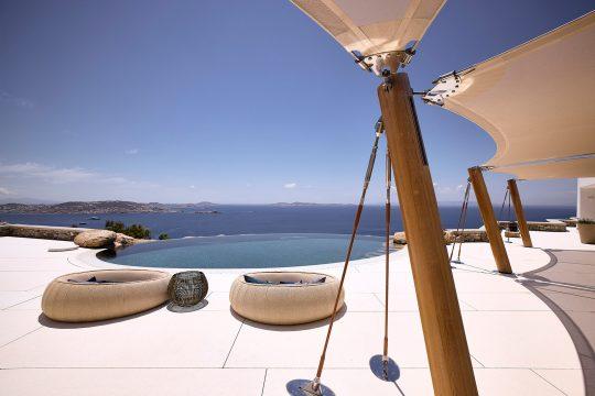 Pantheon Estate in Mykonos by Nikos Adrianopoulos Architecture & Lighting
