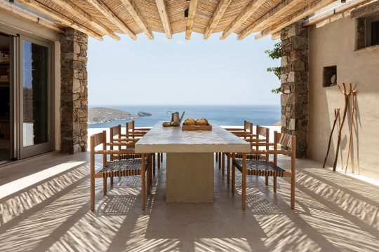 Xerolithi summer house in Serifos island by Sinas Architects