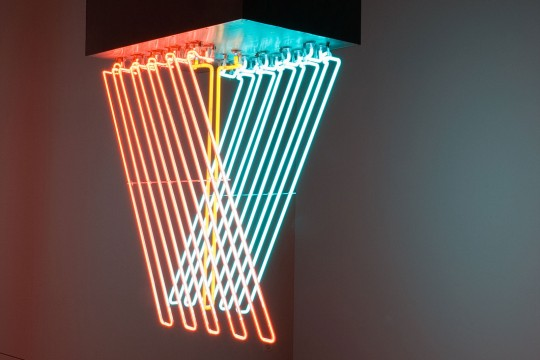 The neon sculptures of Stephen Antonakos
