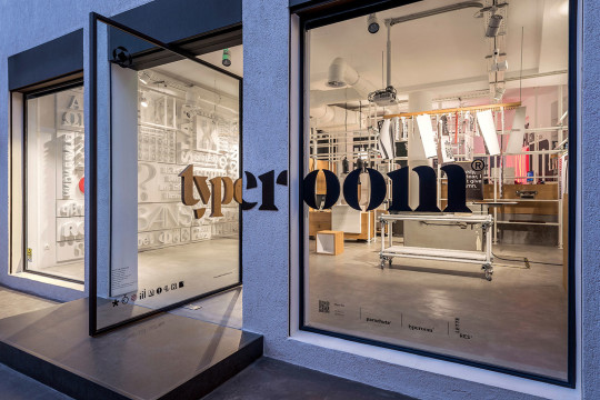 Typeroom® in Athens by Parachute®Typefoundry & Chris Trivizas